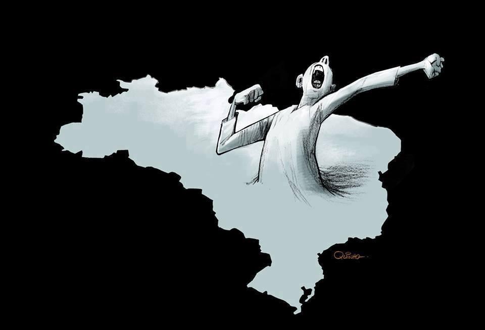 O SONHO DO BERÇO ESPLÊNDIDO E O ACORDAR DE UM PESADELO