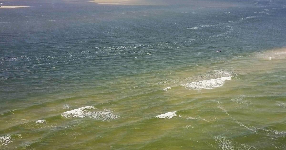 O mar avança e o Velho Chico recua (1)
