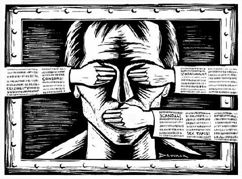 O cobertor da censura não cobre desacertos