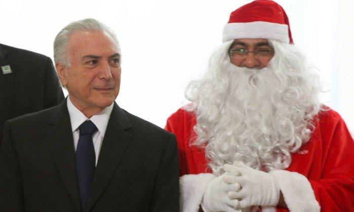 O Papai Noel chegou na Papuda, veio do Jaburu
